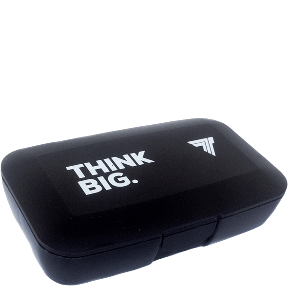 PILLBOX - THINK BIG - BLACK