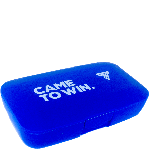PILLBOX - COME TO WIN - BLUE