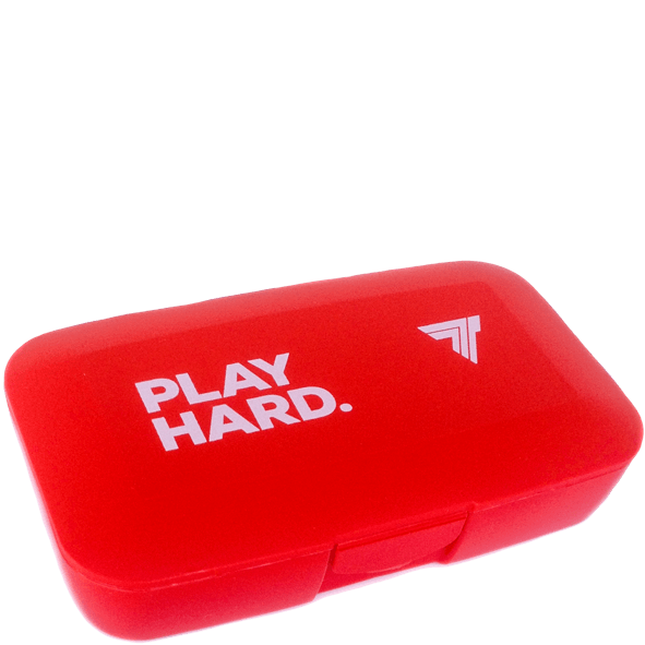 PILLBOX - PLAY HARD - RED