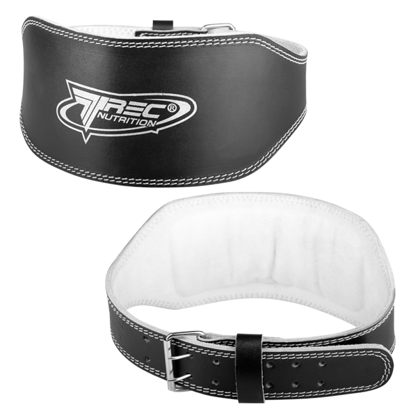 LEATHER WIDE - BELT - BLACK