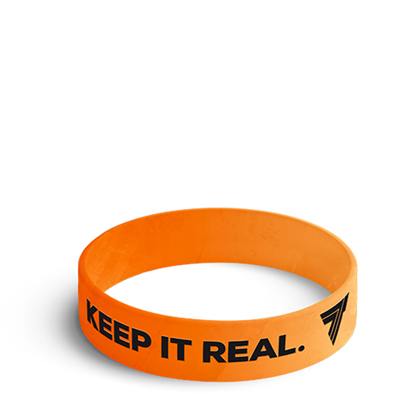 KEEP IT REAL - WRISTBAND 019/ORANGE