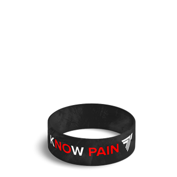 KNOW PAIN KNOW GAIN - WRISTBAND 026/BLACK