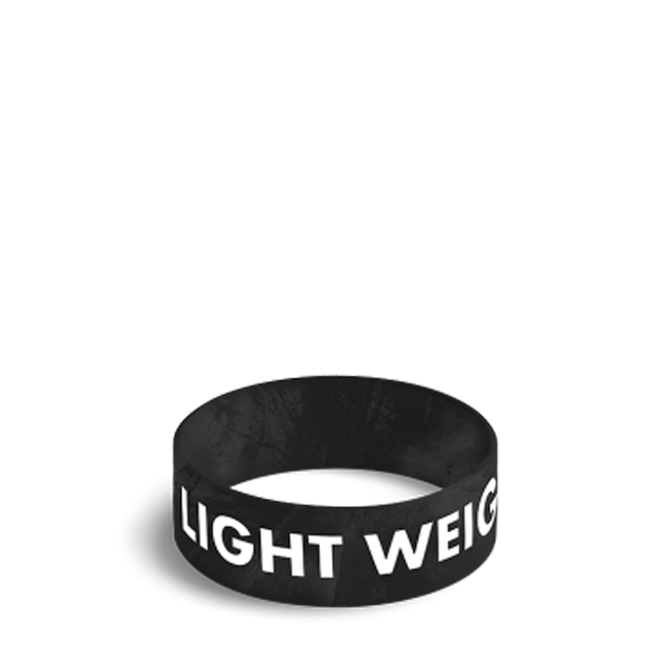 LIGHT WEIGHT BABY - WRISTBAND 027/BLACK