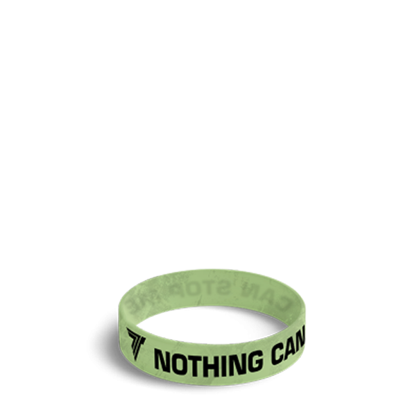 NOTHING CAN STOP ME - WRISTBAND 032/GREEN
