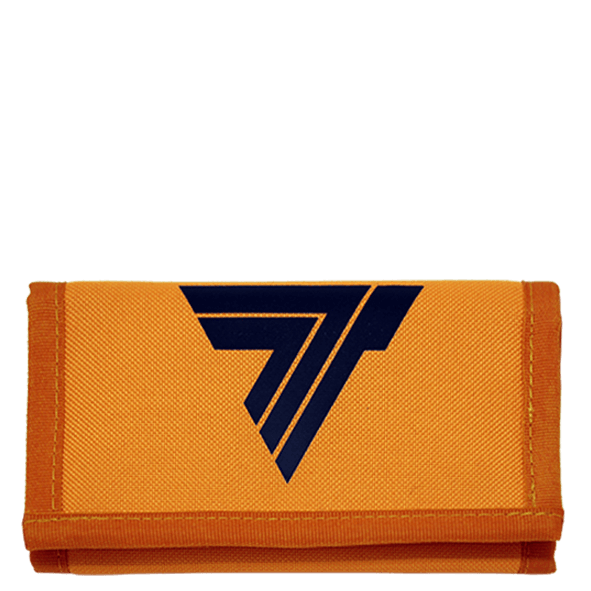 BLACK LOGO T - WALLET 02/ORANGE