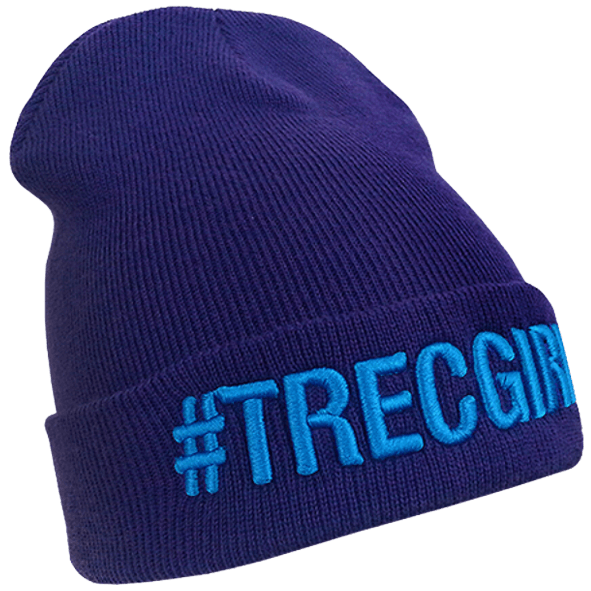 WINTER CAP 011 - #TREC GIRL - PURPLE