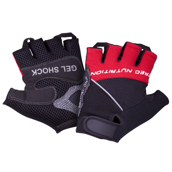 MEN'S - GELSHOCK - GLOVES - BLACK-RED